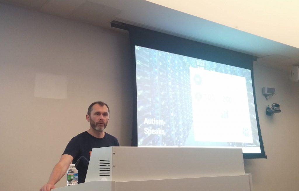 Didier Girard à la formation Google